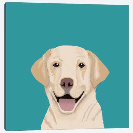 Labrador Canvas Print #PET51} by Pet Friendly Canvas Art