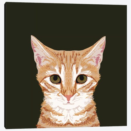 OrangeTabby Canvas Print #PET54} by Pet Friendly Canvas Print