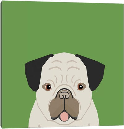 Pug Canvas Print #PET59