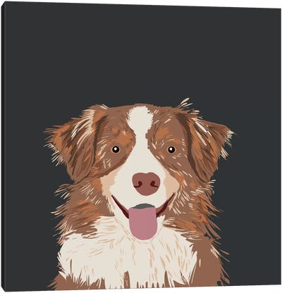 Australian Shepherd I Canvas Art Print