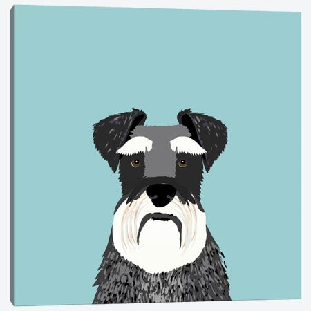 Schnauzer Canvas Print #PET61} by Pet Friendly Canvas Print