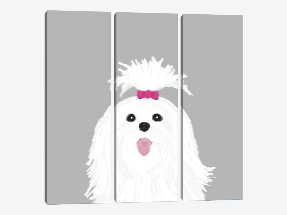 Shih Tzu by Pet Friendly 3-piece Art Print