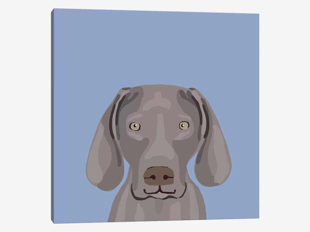 Weimaraner by Pet Friendly 1-piece Canvas Artwork