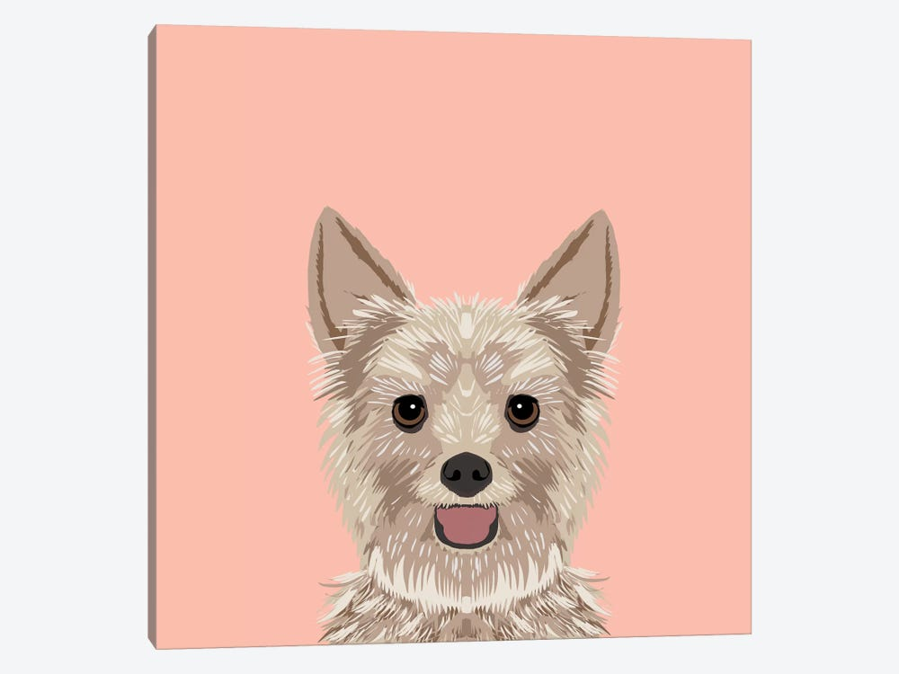 Yorkshire Terrier by Pet Friendly 1-piece Canvas Print