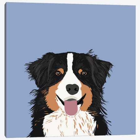 Australian Shepherd III Canvas Print #PET7} by Pet Friendly Canvas Art Print