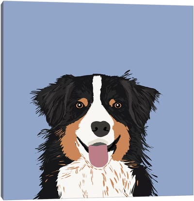 Australian Shepherd III Canvas Art Print