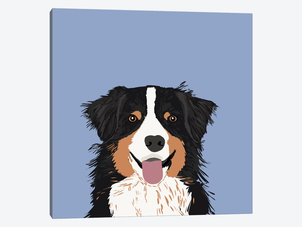 Australian Shepherd III by Pet Friendly 1-piece Canvas Wall Art