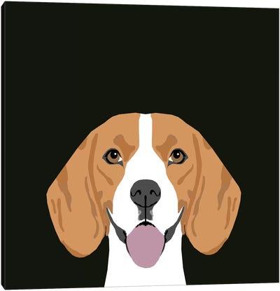 Beagle Canvas Print #PET9