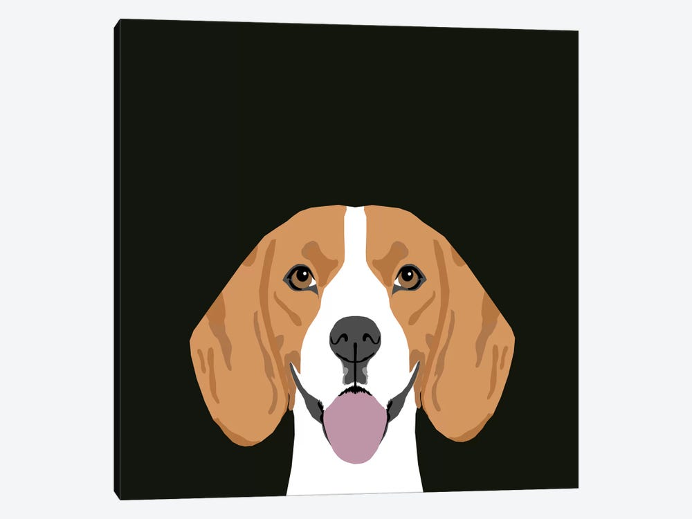 Beagle by Pet Friendly 1-piece Canvas Wall Art