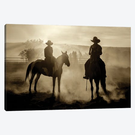 Ready To Ride Canvas Print #PEW104} by Peter Walton Canvas Wall Art