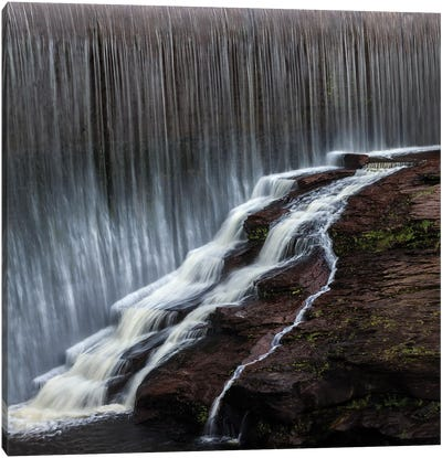 Cambodian Waterfall Canvas Art Print