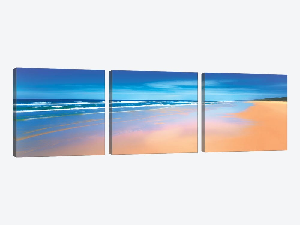 Away From It All by Peter Walton 3-piece Canvas Art Print