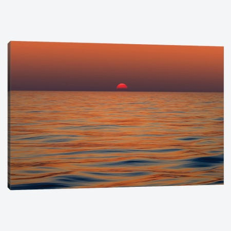 Day's End Canvas Print #PEW16} by Peter Walton Canvas Wall Art