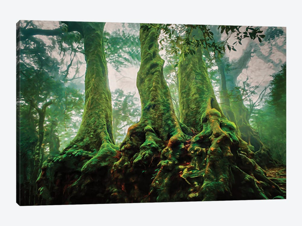 Medieval Trees by Peter Walton 1-piece Art Print