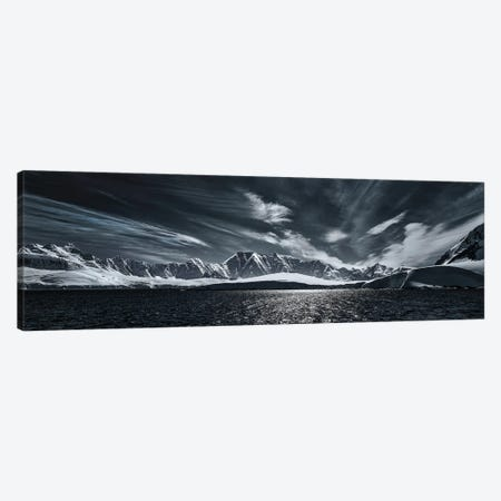 Antarctic Mountain Range Canvas Print #PEW192} by Peter Walton Canvas Wall Art