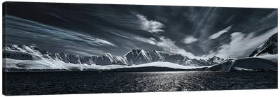 Antarctic Mountain Range Canvas Art Print