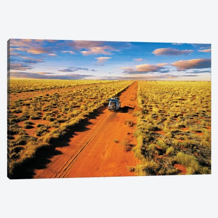 Heading West Canvas Print #PEW198} by Peter Walton Canvas Artwork