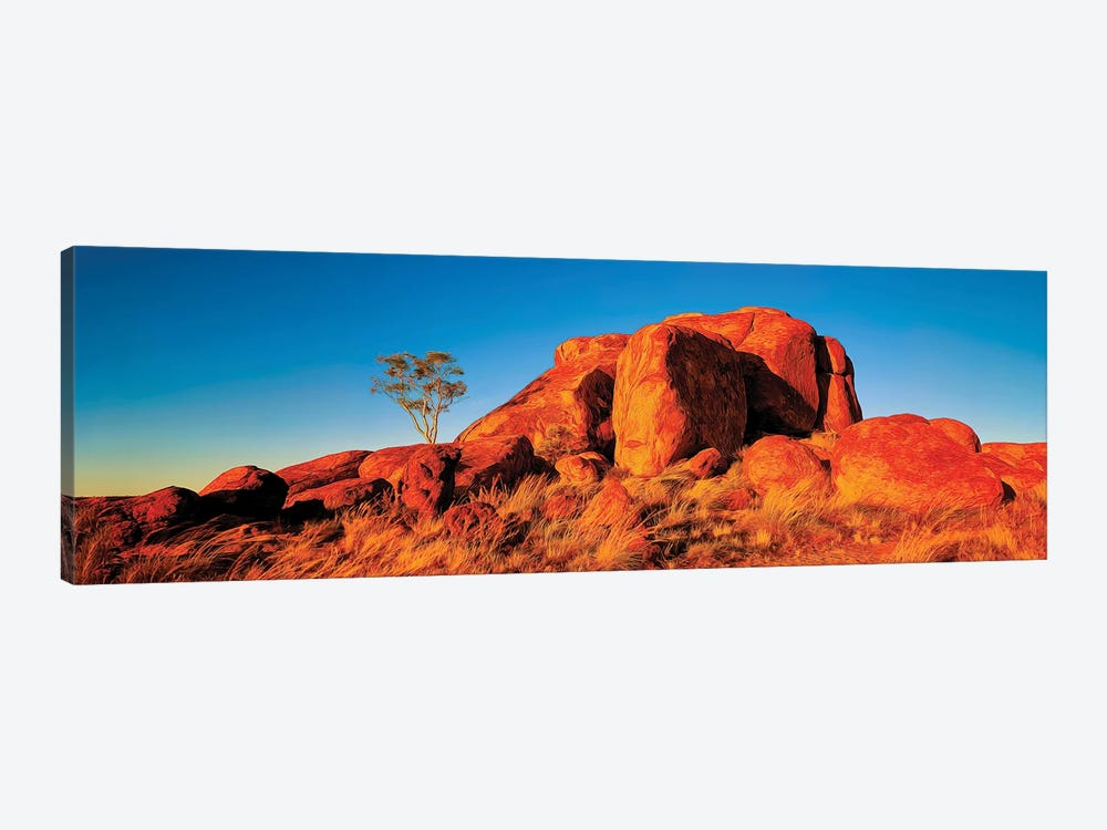 Giant Devils Marbles by Peter Walton 1-piece Canvas Artwork