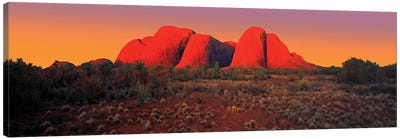 The Olgas 2 Canvas Art Print
