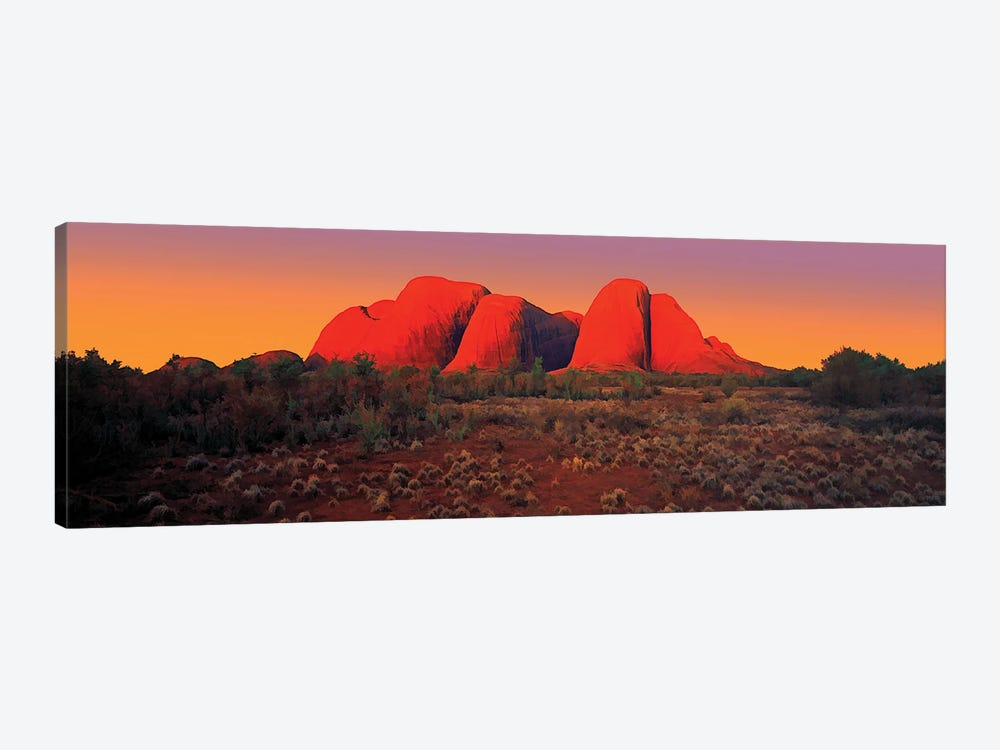 The Olgas 2 by Peter Walton 1-piece Canvas Artwork