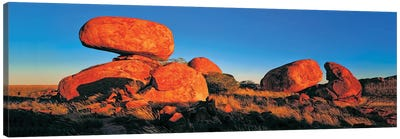 Devils Marbles Panorama Canvas Art Print