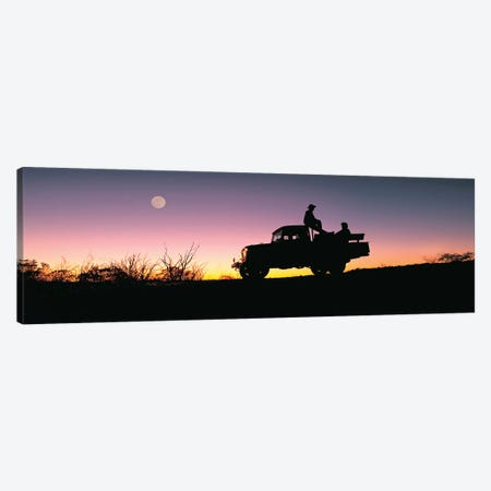 Toyota Sunset Canvas Print #PEW213} by Peter Walton Canvas Print