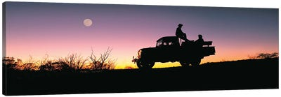 Toyota Sunset Canvas Art Print