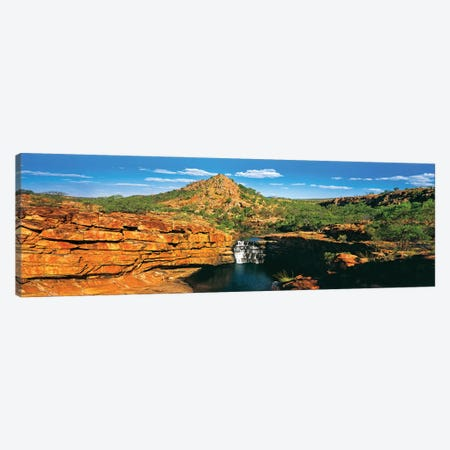 Mitchell Falls Canvas Print #PEW215} by Peter Walton Canvas Art