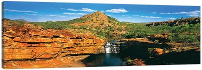 Mitchell Falls Canvas Art Print