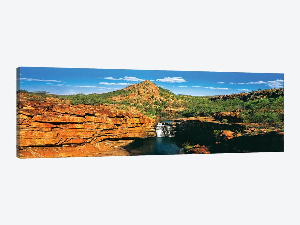 Mitchell Falls by Peter Walton 1-piece Canvas Print