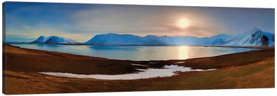 Icelandic Panorama Canvas Art Print