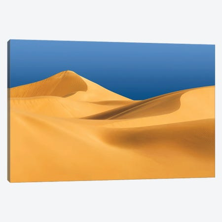 Eucla Sand Dunes Canvas Print #PEW24} by Peter Walton Art Print