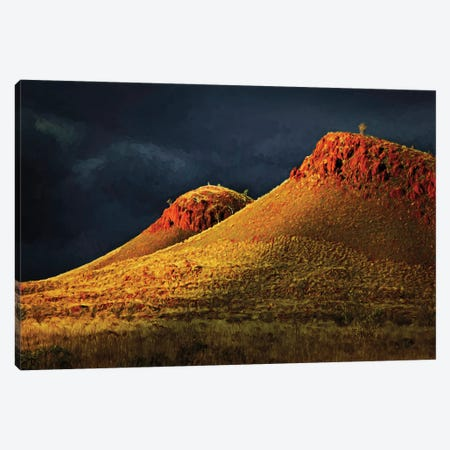 Approaching Storm Canvas Print #PEW3} by Peter Walton Canvas Print