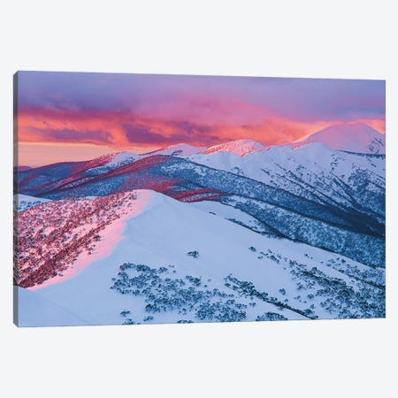 Mount Feathertop Canvas Print #PEW51} by Peter Walton Canvas Print
