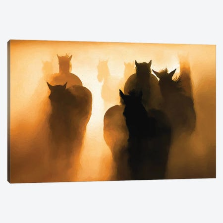 Out Of The Dust Canvas Print #PEW58} by Peter Walton Canvas Print