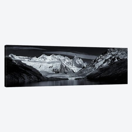 Patagonian Panorama Canvas Print #PEW60} by Peter Walton Canvas Artwork