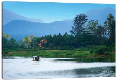 Perfumed River Vietnam Canvas Art Print