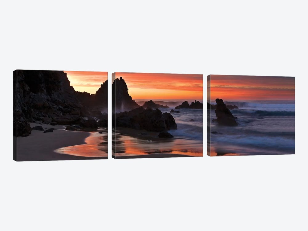 Point Hicks Panorama by Peter Walton 3-piece Canvas Wall Art
