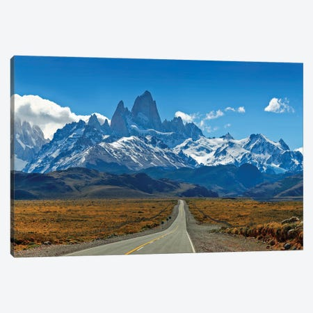 Road To Patagonia Canvas Print #PEW66} by Peter Walton Canvas Print