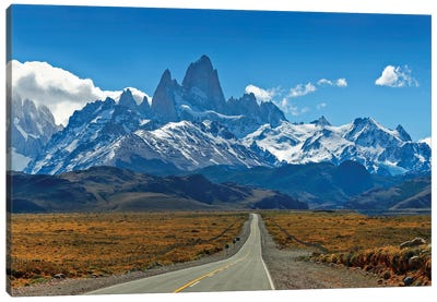 Road To Patagonia Canvas Art Print