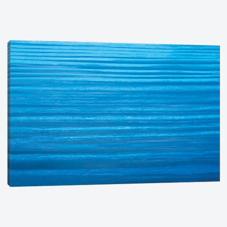 Blue Ripples Canvas Print #PEW8} by Peter Walton Canvas Art Print