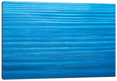 Blue Ripples Canvas Art Print