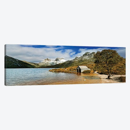 Cradle Mountain Panorama Canvas Print #PEW94} by Peter Walton Canvas Art