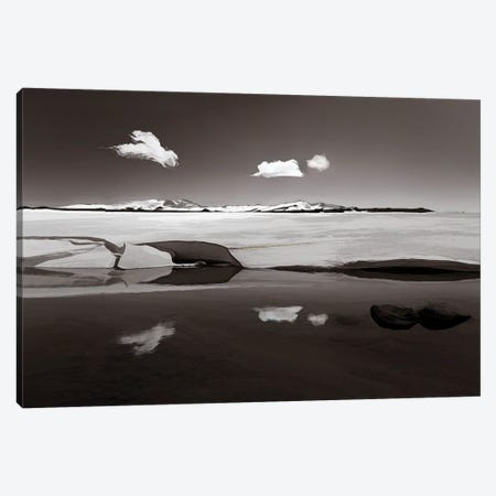 Koziusko Snowdrift Canvas Print #PEW99} by Peter Walton Canvas Print