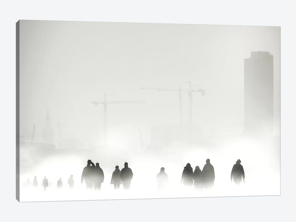 Atmosphere by Piet Flour 1-piece Canvas Artwork