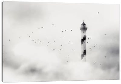 The Fog Canvas Art Print