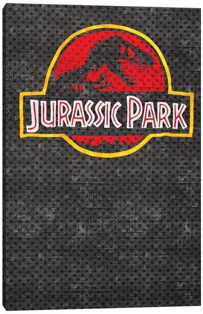 Jurassic Park Correct Canvas Art Print