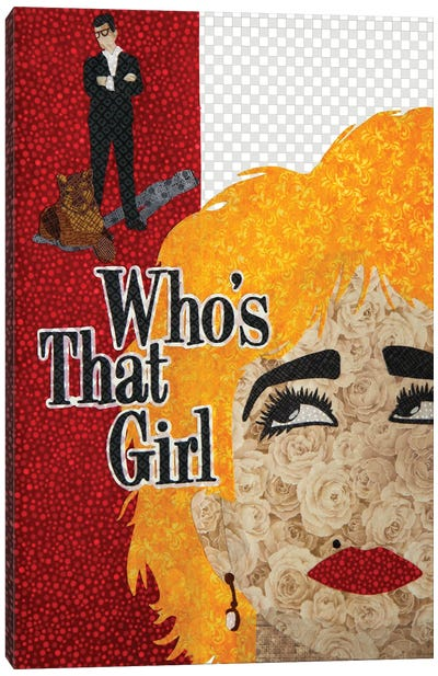 Who's That Girl Canvas Art Print