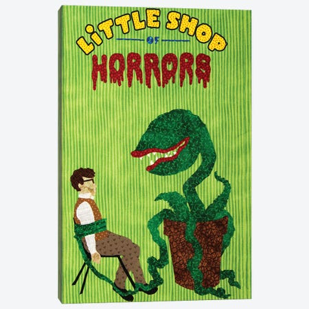 Little Shop Of Horrors New Canvas Print #PFP110} by Pop Fabric Posters by Ali Scher Canvas Art Print