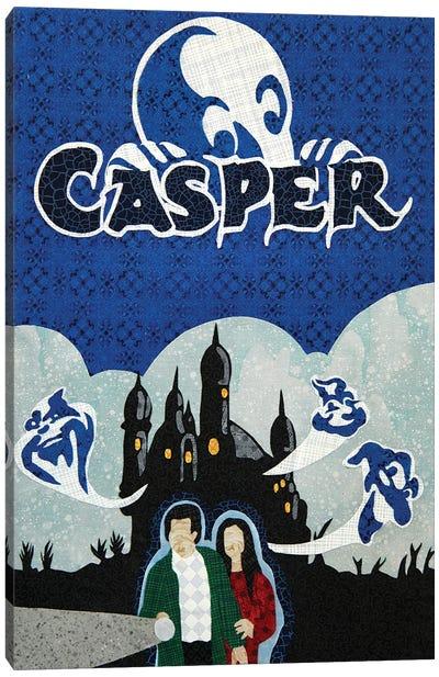 Casper Canvas Art Print